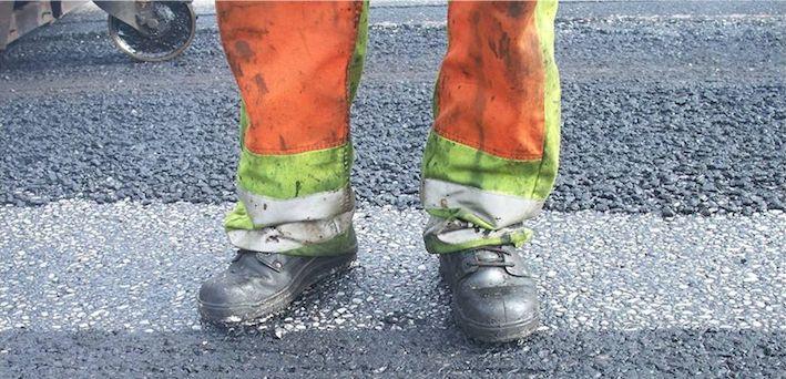 Skanska ökar återanvändningen av gammal asfalt