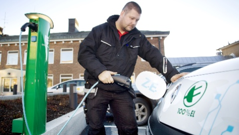 Lättare att ladda el i nytt Umeå-projekt