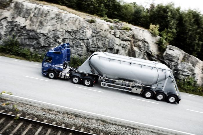 Genombrott för flytande gas till tunga fordon