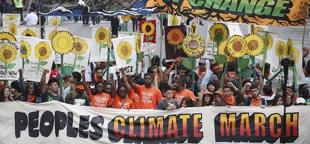 Stort folkligt tryck inför FN-möte om klimatet