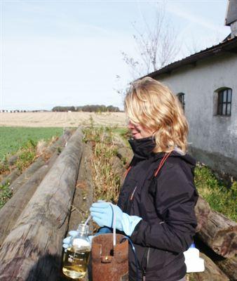Gott om bekämpningsmedel i skånskt grundvatten