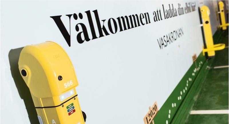 Vasakronan bygger 66 nya laddplatser