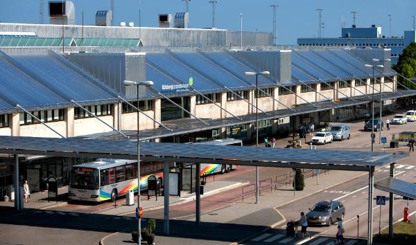 Landvetter första flygplats med Breem för befintliga byggnader