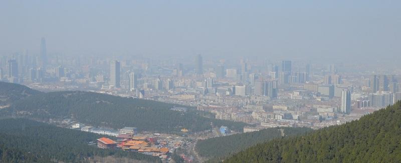 Kinas miljöförstöring minskar