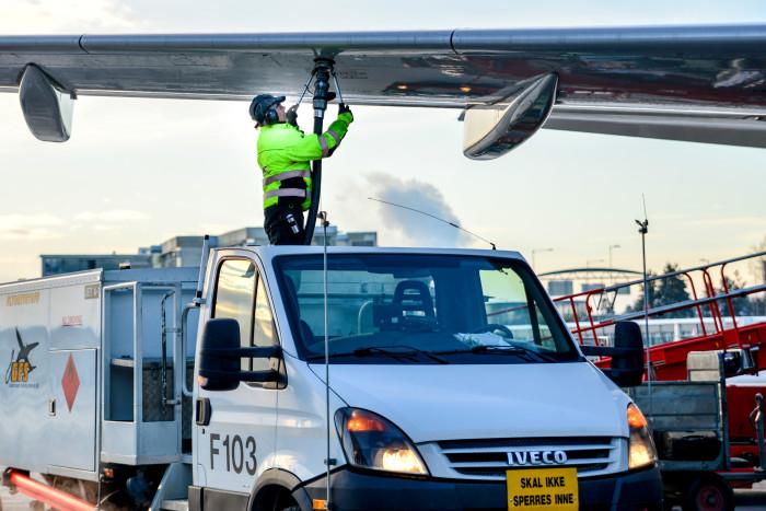 Oslo flygplats storstatsar på biobränsle