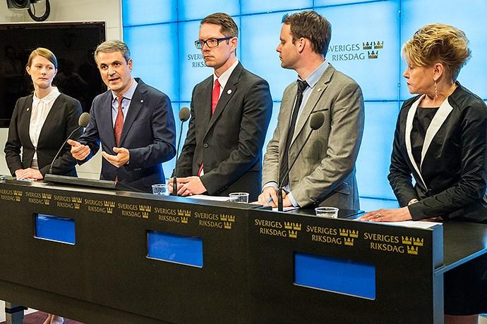 Fem partier enade om svensk energipolitik