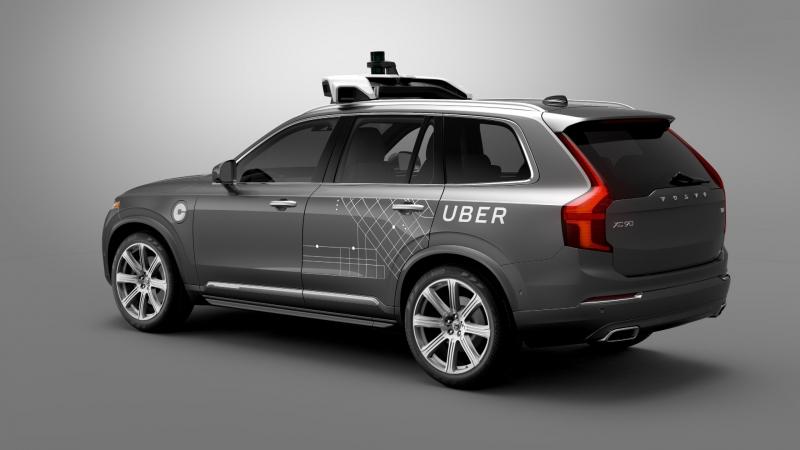 Volvo och Uber utvecklar självkörande bil ihop