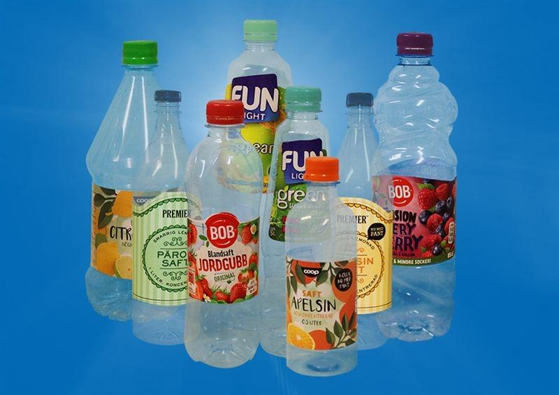Allt fler pantar saftflaskor