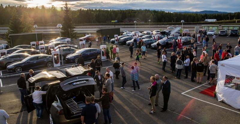 Norge får världens största laddstation för elbilar