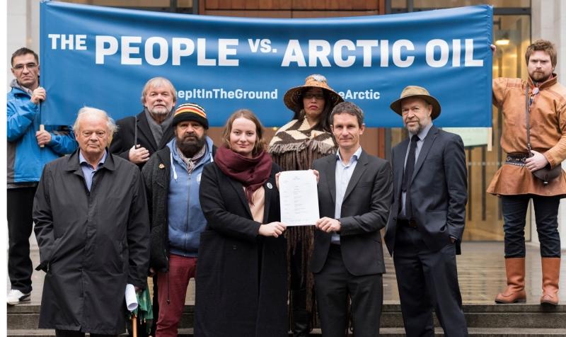 Frivilligorganisationer stämmer norska staten för oljeborrning
