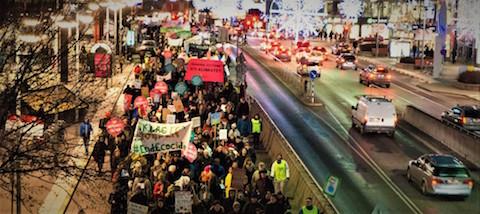 Global manifestation för klimatet