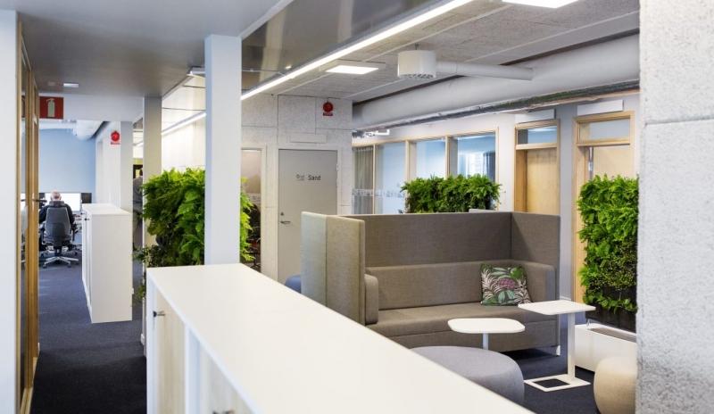 Återbruk vid kontorsrenovering – spara 43000 ton växthusgaser