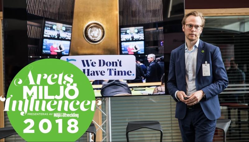 Ingmar Rentzhog är Årets Miljöinfluencer 2018