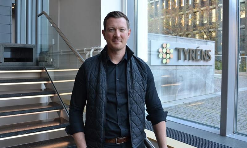 Ny affärschef på konsultföretaget Tyréns