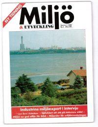 Miljö&Utveckling nr 1 1989 omslag
