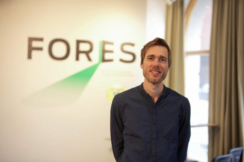 Elias Rosell får jobbet som Fores representant i Bryssel
