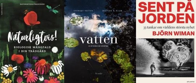 9 hållbarhetsböcker för regniga semesterdagar