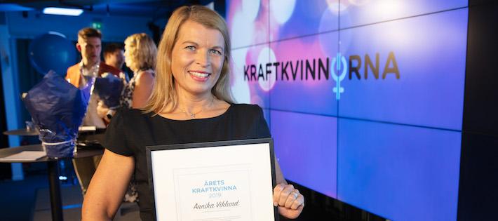 Årets Kraftkvinna 2019 utsedd