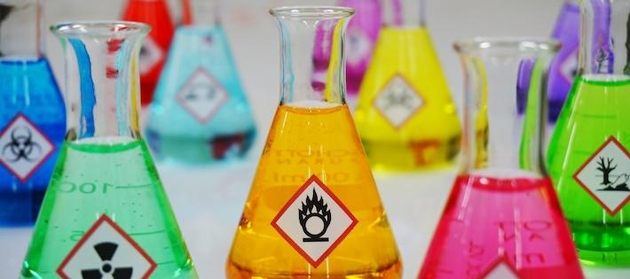 Stor mängd förbjudna ämnen i produkter utanför EU