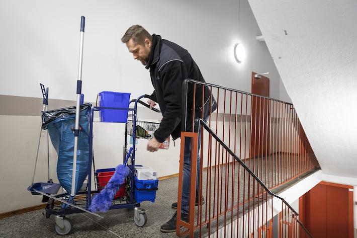 Göteborgs stad tar itu med städningen