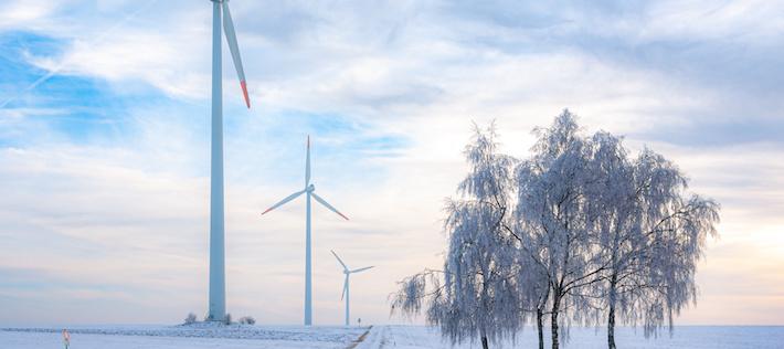 Medvind år 2020 – nytt vindkraftsrekord i Norden