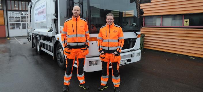 Lund först i Sverige med eldriven sopbil
