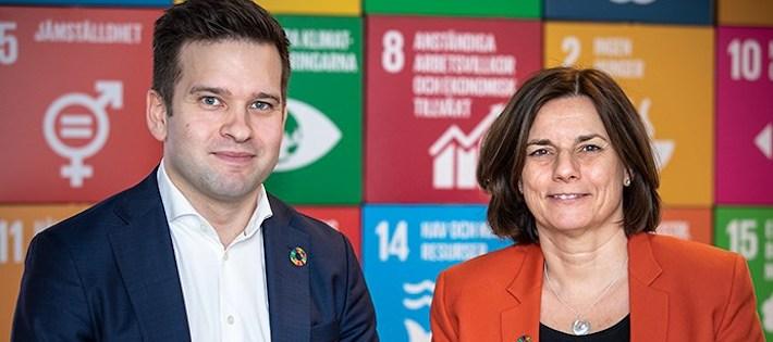 Folkhälsominister blir nationell samordnare för Agenda 2030