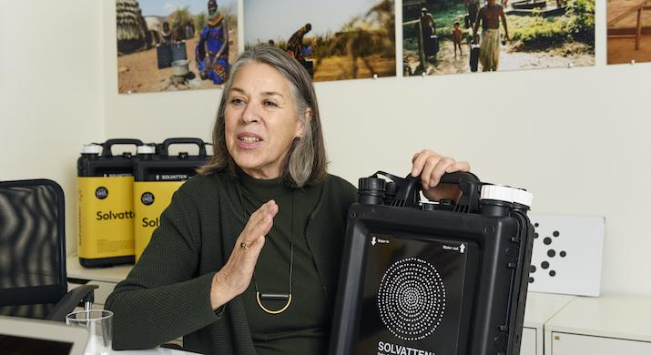 Petra Wadström levererar på alla FN:s hållbarhetsmål