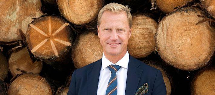 Han blir ny ordförande för Skogsindustrierna