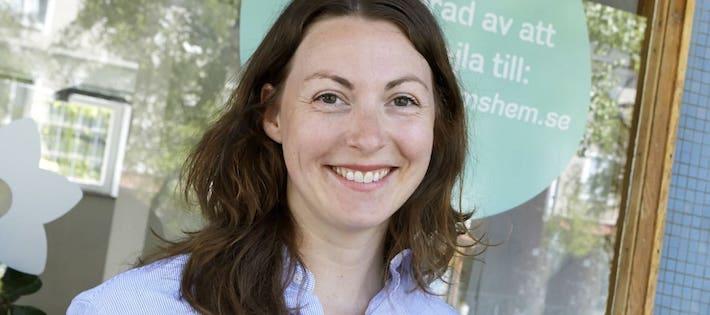 Hon blir ny energichef hos Stockholmshem