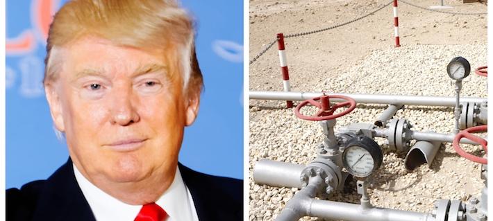 Trump vill få fart på ekonomin –stoppar miljölagar