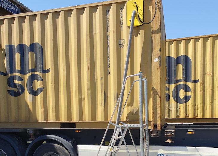 Containergifter skapar dödsfälla