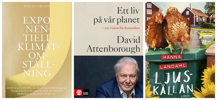 10 miljöböcker från hösten 2020