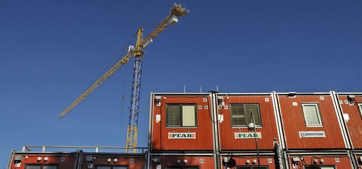 Företag vill få koll på stålet ända till byggarbetsplatsen