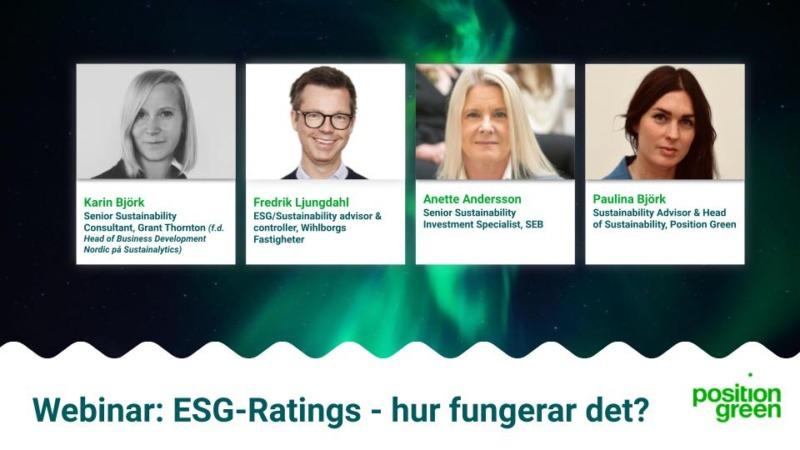 Nytt webinar om ESG-ratings