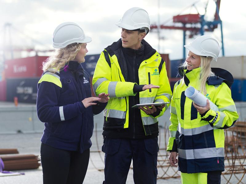 Göteborgs hamn ska bli världens grönaste hamn
