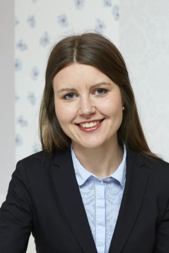Johanna Wikander, hållbarhetschef Stockholmshem.