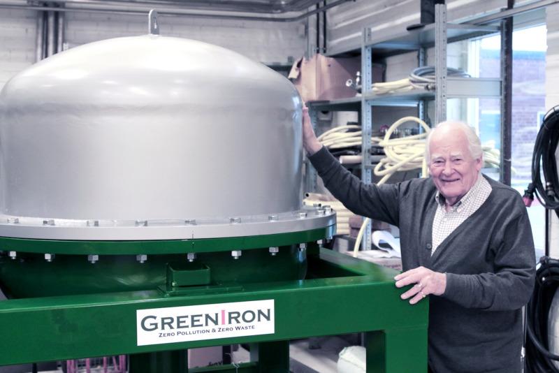 Svensk hållbar uppfinning revolutionerar stålets återvinningsprocess