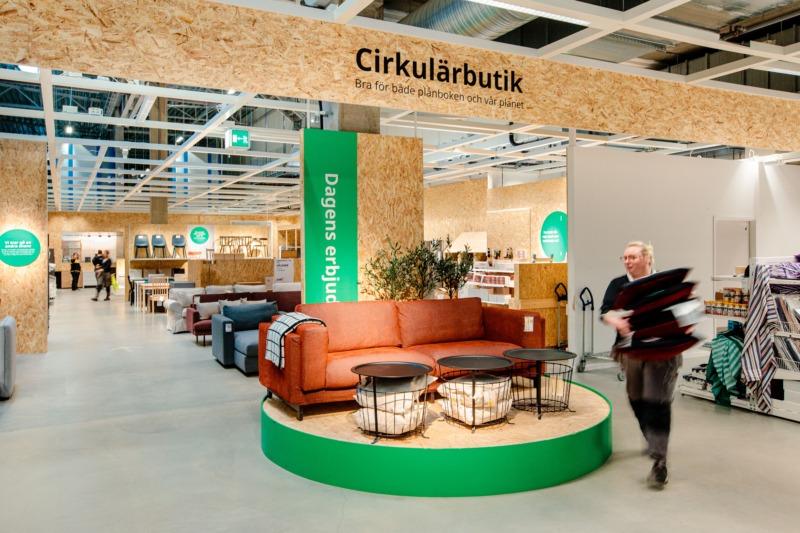 Ikea öppnar butiker för ökad cirkularitet