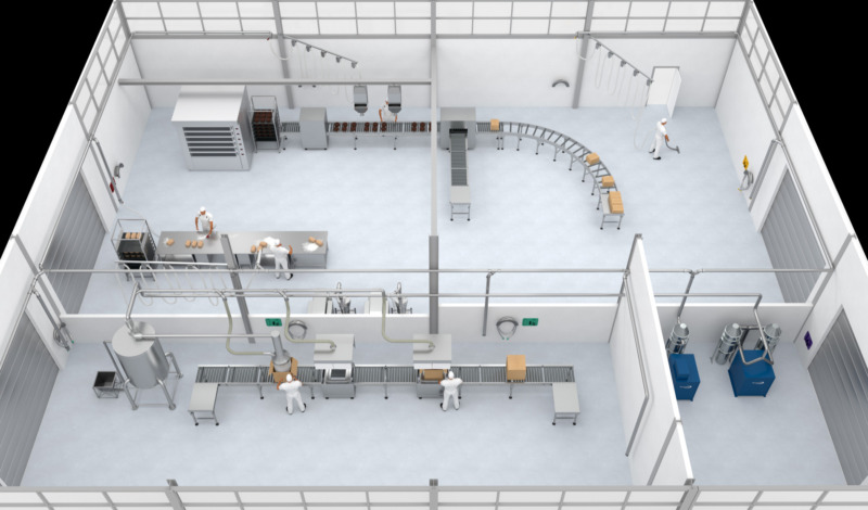 Nytt utsugningssystem skapar en säkrare – och smartare – livsmedelsproduktion