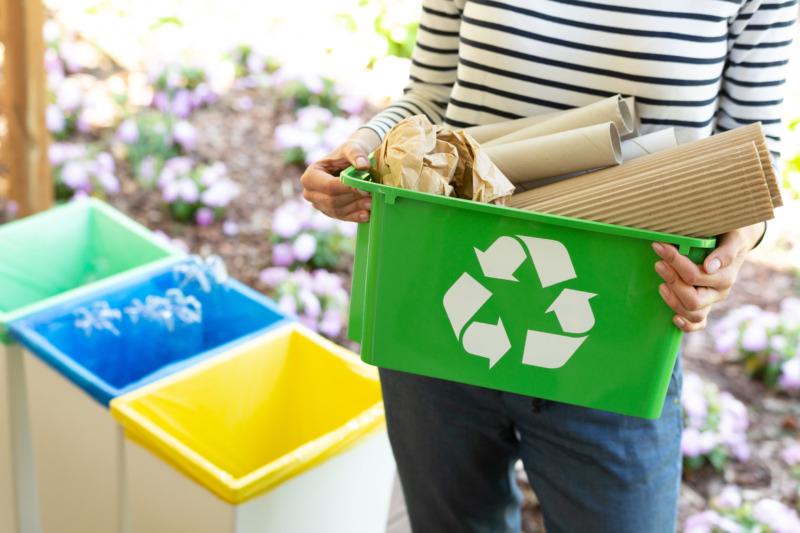 Svenskarna överträffar återvinningsmålen