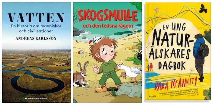 10 miljöböcker från vårens utgivning