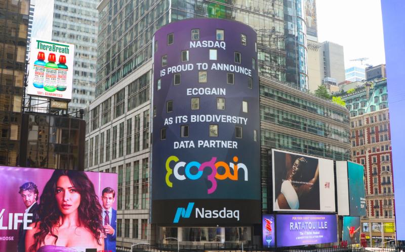 Nasdaq inleder samarbete med svenska Ecogain