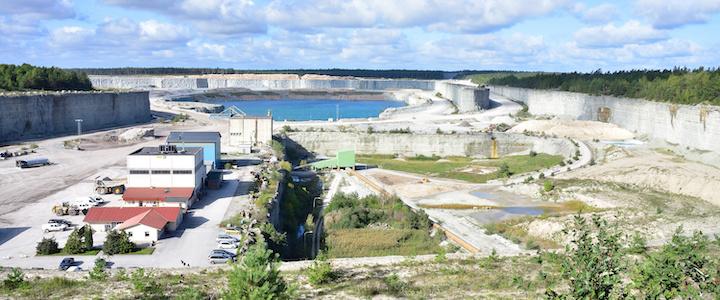 Vattenstrider som Cementa vanligare framöver