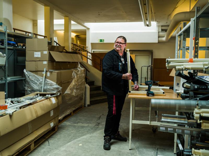 Flera satsningar inom offentlig sektor på återbruk av möbler