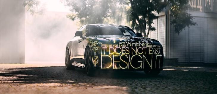 Rolls-Royce första elbil på väg