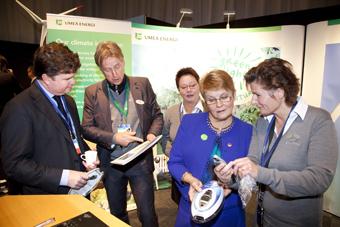 Nytt miljösamarbete med USA
